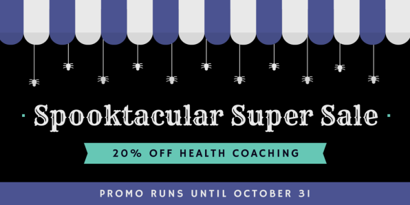 20% off health coaching
